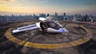 Flying car - Tesla, NVIDIA and Lilium will revolutionize future transportation
