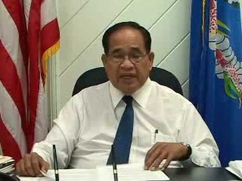 Governor Fitial on GAO Report & Federalization