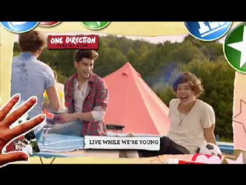 "One Direction 熱切期待的第二張大碟 ""Take Me Home"" TVC"