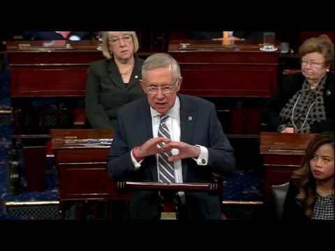 WATCH: Sen. Harry Reid's Farewell Remarks on Senate Floor (PART 2 of 2) - FNN