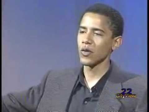 A Young Barack Obama Talks About African-American Culture