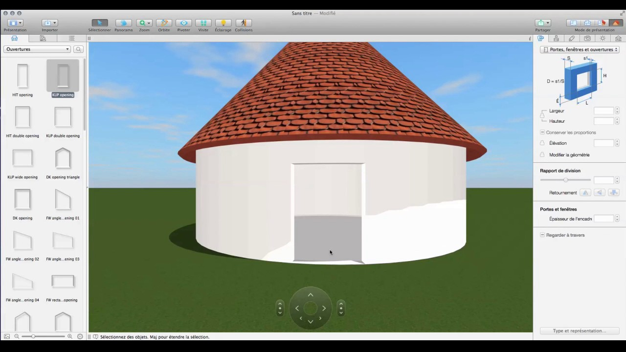 Live home 3d pro tutorials fran ais courbes for Home 3d