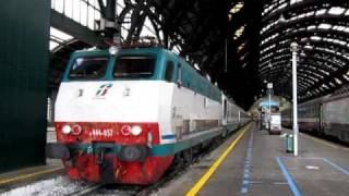 FS Intercity 9815 Milano - Taranto hauled by E444R at Milano Centrale