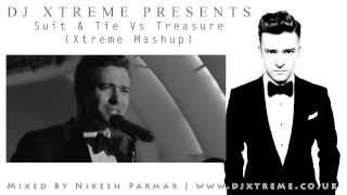 Suit & Tie Vs Treasure (Xtreme Mashup) - DJ Xtreme
