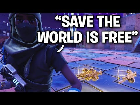 Save The World Is NOW FREE!! 😱🤯 (Scammer Get Scammed) Fortnite Save The World