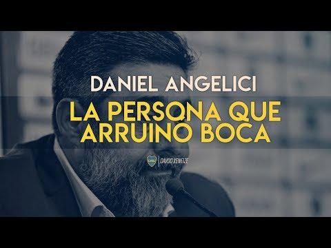 Daniel Angelici: El peor presidente de la historia de Boca