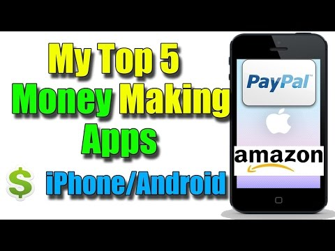 Top 5 Money Making Apps 2016  Android/iOS