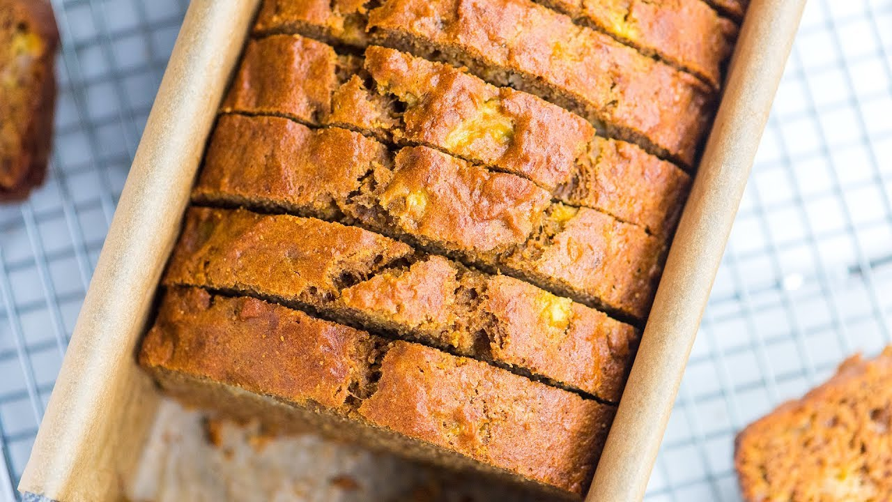 How To Make Guilt Free Banana Bread Healthy Banana Bread Recipe