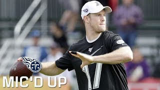 Ryan Tannehill Mic'd Up at 2020 Pro Bowl Practice   Tennessee Titans