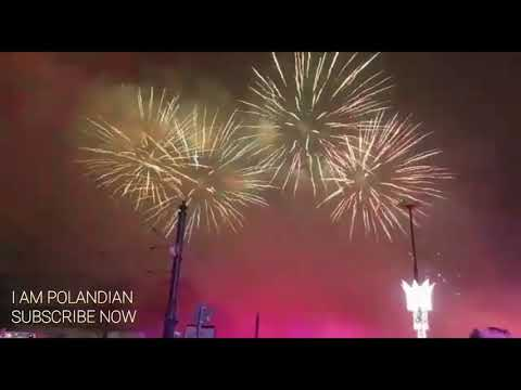 NEW YEAR CELEBRATIONS IN WARSAW | FULL EVENT | Happy New Year 2018 from POLAND- I am Polandian