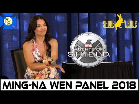 MingNa Wen Panel Marvel's Agents of SHIELD  Shore Leave 40