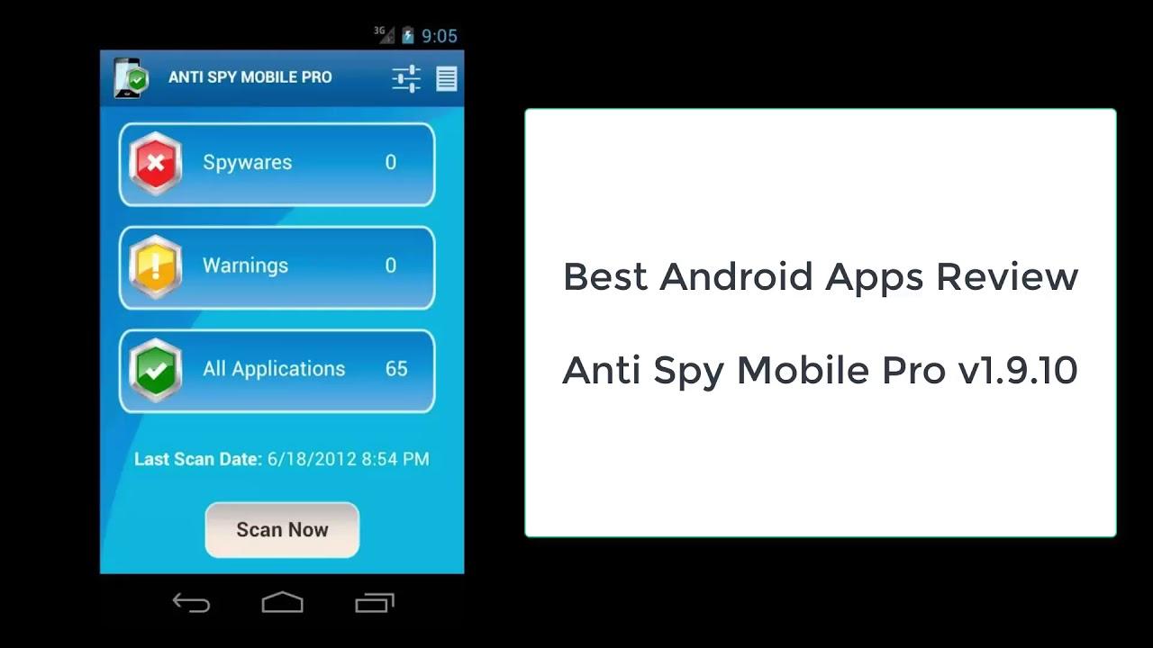 App Test Spionage Anti