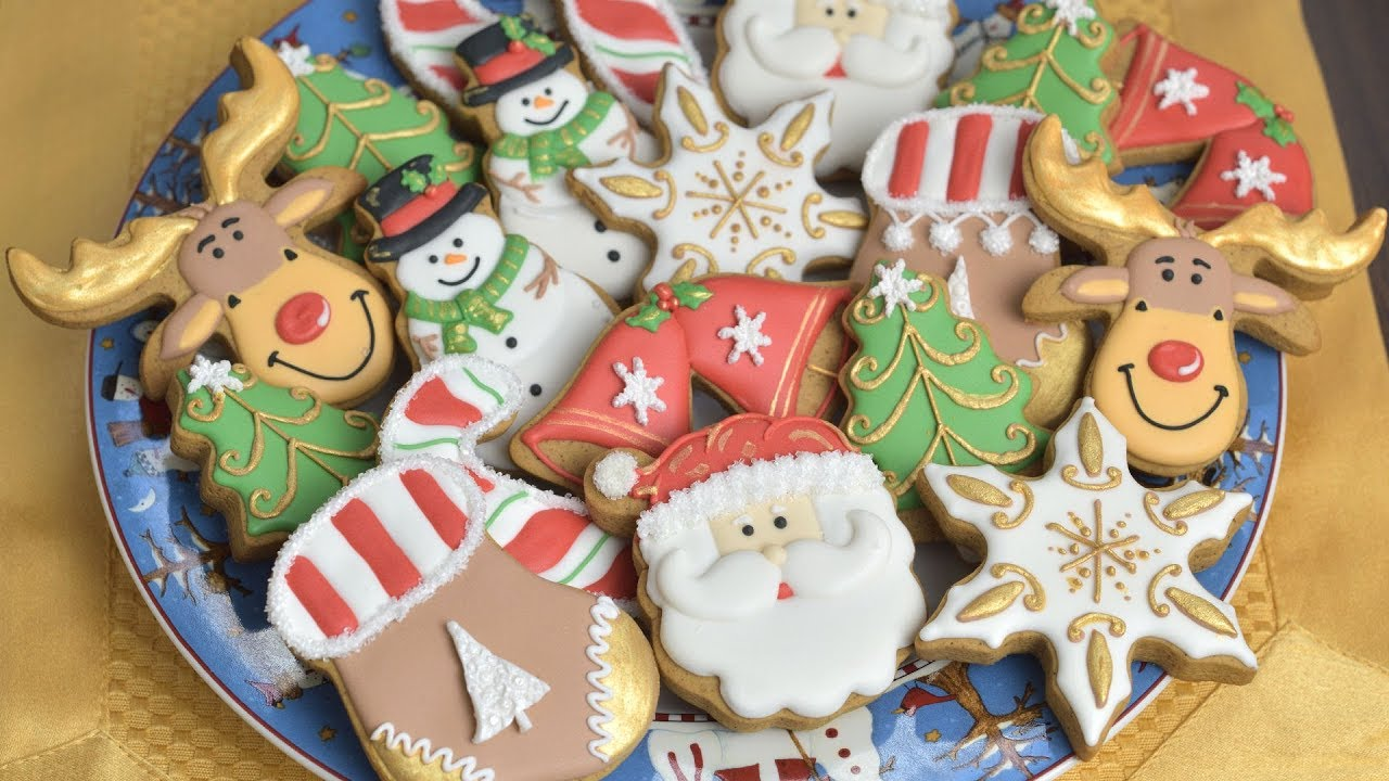 christmas decoratedcookies christmascookies - How To Decorate Christmas Cookies With Royal Icing