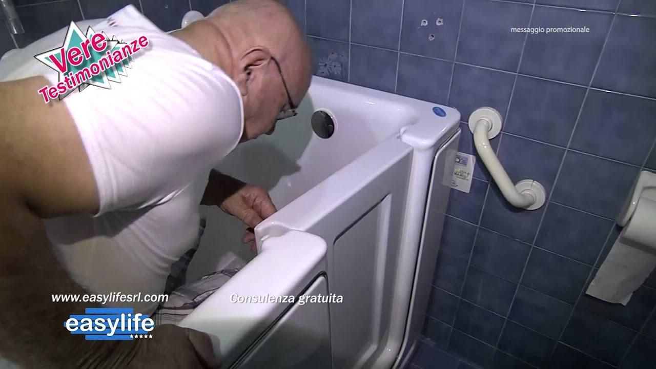 Vasche Da Bagno Easy Life Prezzi : Easy life le vasche con porta youtube
