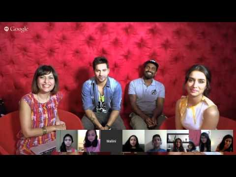 #MMHangouts With Varun Dhawan, Shraddha Kapoor & Remo D'Souz