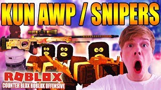 KUN SNIPERS / AWP - COUNTER BLOX ROBLOX OFFENSIVE - DANSK ROBLOX - [#11]