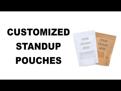 How To Order Customised Standup Pouches