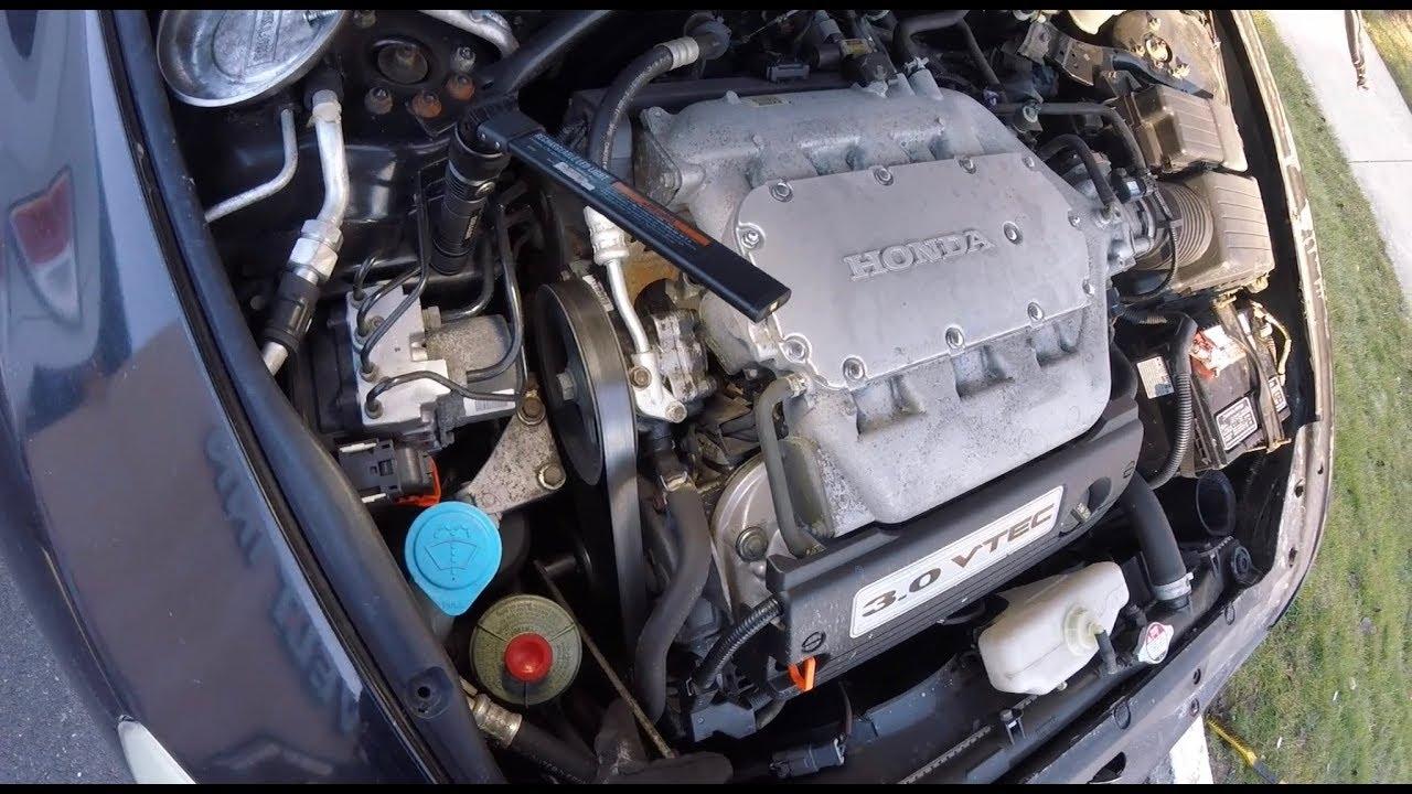 Quickfix Auto 2004 Honda Acura 3 0l Alternator Replacement
