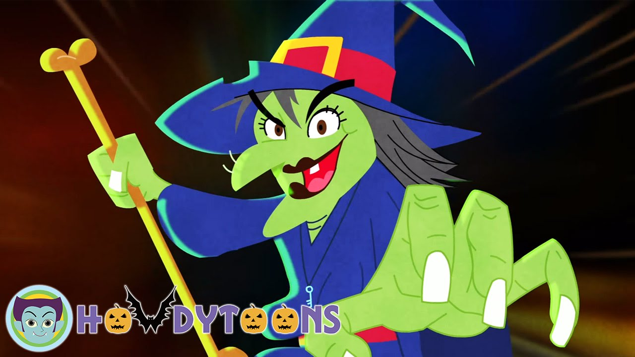 halloween songs for kids - i'm a crazy witchhowdytoons - youtube