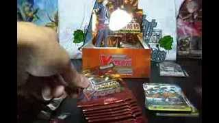 Cardfight Vanguard Seal Dragons Unleashed BT11 Booster Box Opening Box 1