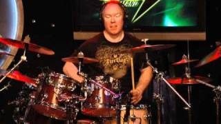 Richard Christy drumming Stern