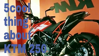 5 cool thing about KTM Duke 250 2017....