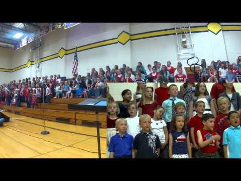 Spring Musical - Bridgeport Nebraska Elementary School - 2013