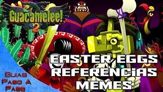 Video de Guacamelee 2 | Easter Eggs, memes, guiños y referencias | ¿Cuantos reconoces?