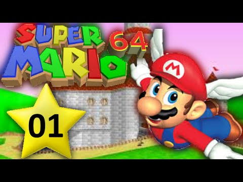 let 39 s play super mario 64 01 der kuchen ist eine l ge youtube. Black Bedroom Furniture Sets. Home Design Ideas
