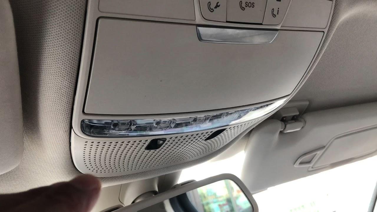 74348528e31 SUNGLASSES HOLDER - Mercedes-Benz GLC-Class - YouTube