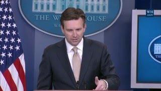 5/18/16: White House Press Briefing
