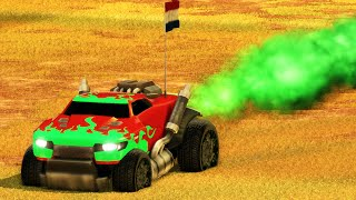 GREEN POWER!! (Rocket League Funny Moments)