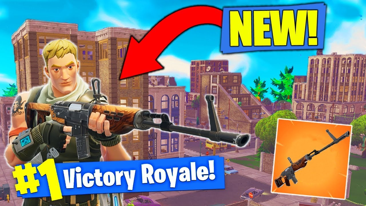*NEW* TOWN & RIFLE Coming to Fortnite Battle Royale! Video