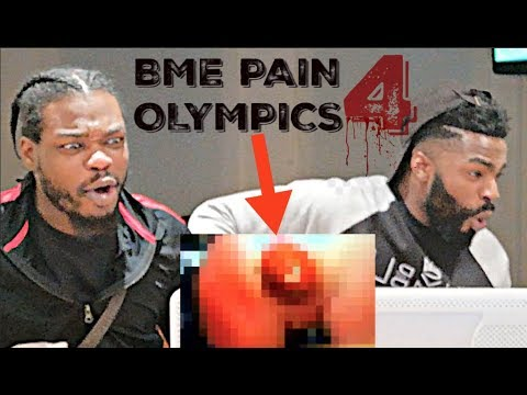 ABSOLUTELY GRUESOME!! | BME PAIN OLYMPICS 4 | REACTION ft. DRE LOCC