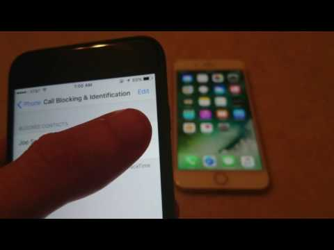 Iphone How To Block Number Ios