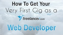 How To Get Your Very First Gig as a Freelance Web Developer