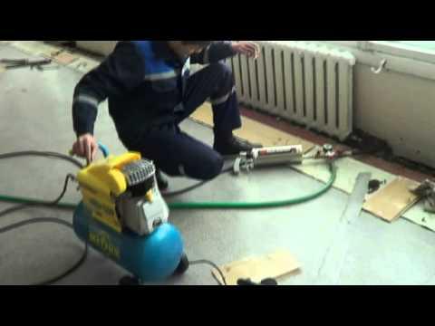 Промывка систем отопления методом гидро-пневматического тарана