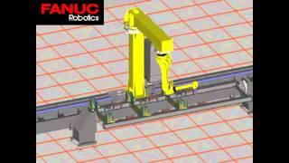 Симуляция сварки крупногабаритной рамы полуприцепов и трейлеров промышленным роботом Fanuc и Kuka