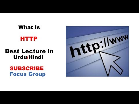 What Is HTTP | Lecture In Urdu/Hindi