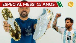 A NOVA CHUTEIRA DE MESSI | adidas Nemeziz 19.1 Messi 15 YEARS