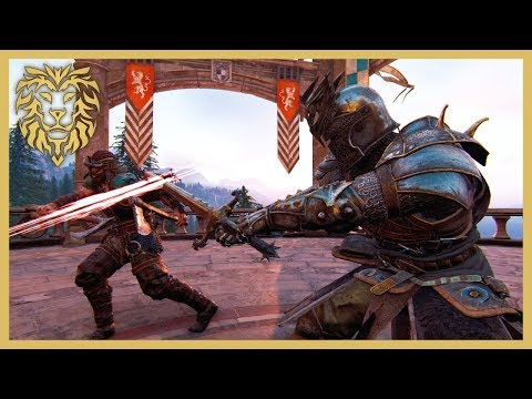 [For Honor] AGGRESSIVE Warden Gameplay!