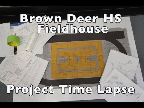 Brown Deer High School Field House in 3 minutes.