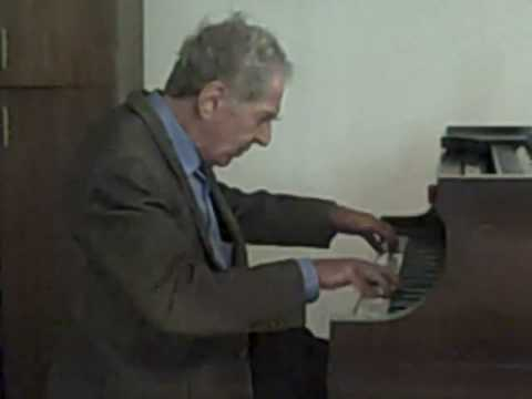 Claude Frank playing Beethoven Op. 109