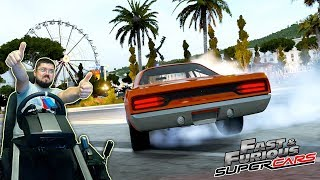 Больше жогова на лучших маслкарах из Форсажа Plymouth - Forza Horizon 2 на руле Fanatec CSLElite PS4