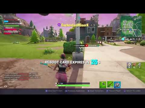 Maskquerade's PS4 Fortnite Bunnyhop w/Enchanted