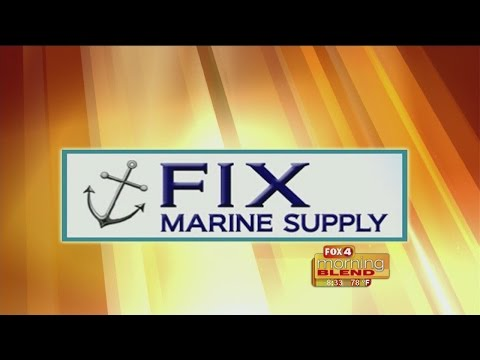 Marine Minute - Fix Marine Supply: How to maintain your boat lift 04/13/2015