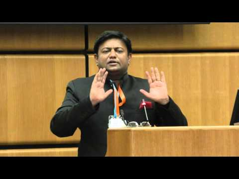 Addressing at the World Peace Conference in United Nations...