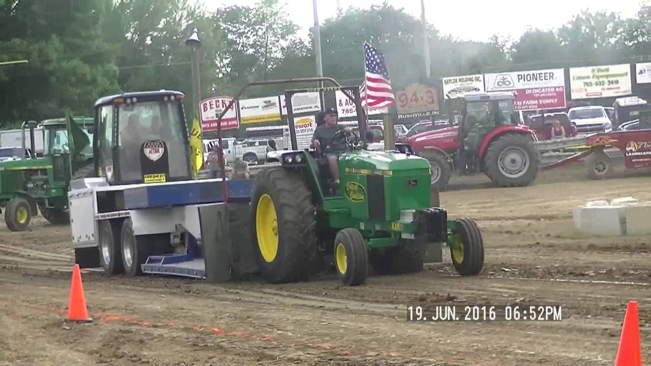 Indiana rush county - 11 500lb 10mph Farm Stock Tractors Rush County Indaina Fair June 19 2016