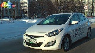 Тест драйв автомобиля Hyundai i30