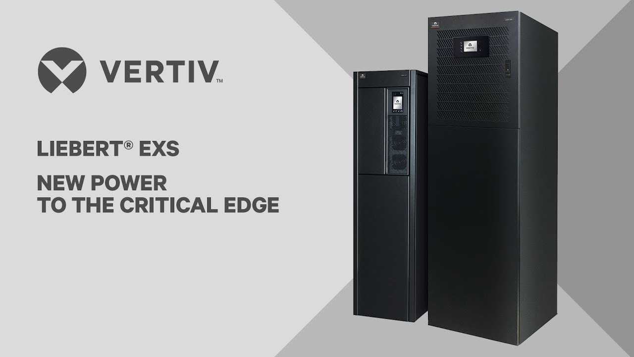 Vertiv debuts Liebert EXS, integrated UPS for small spaces including